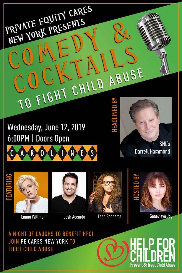 Comedy & Cocktails Flyer