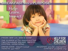 Asia Breakfast with a purpose I
